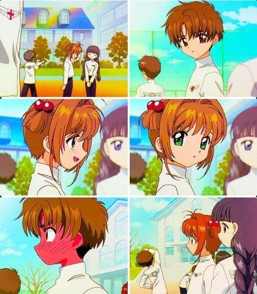 Sakura & Syaoran cute blushy moment (Season 3 Ep.47 - 70 )