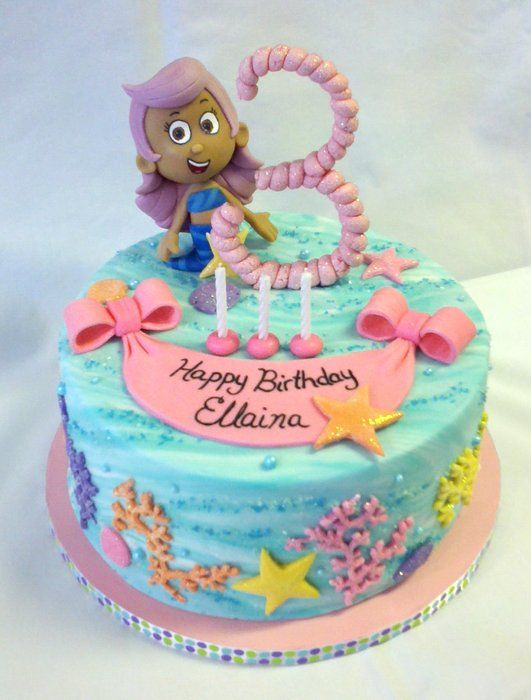 Bubble Guppies For MY Princess!   By CakeLifeChaos @ CakesDecor.com   Cake  Decorating