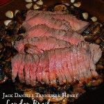 Beef London Broil marinated in Jack Daniels Tennessee Honey and spices; then grilled to perfection. *Originally published July 11, 2011. During one of my trips toGary's Wine and Marketplace, I couldn't pass up some of those tiny little airplane si...