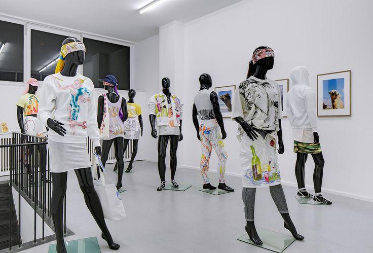 Hand drawn garments Julien Ceccaldi