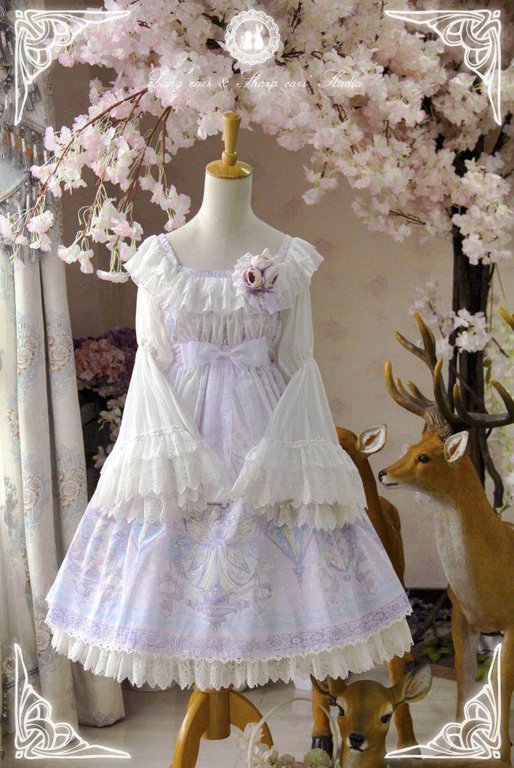 -The Kingdom of Fairies- Lolita OP Dress