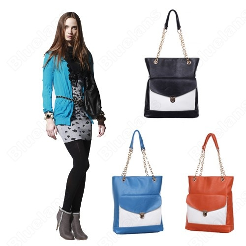 Discount China china wholesale Fashion Korean Mixed Colors Lock Chain Faux Leather Womens Shoulderbag Handbag [40822] - US$32.99 : Bluelans: Colors Locks, Candy Colors, Mixed Colors