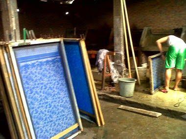 Seragam batik solo Kalinggo batik seragam batik printing