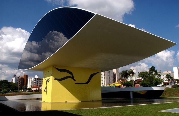 Principais Obras de Oscar Niemeyer - No Brasil e No Exterior - Museu Oscar Niemeyer em CURITIBA