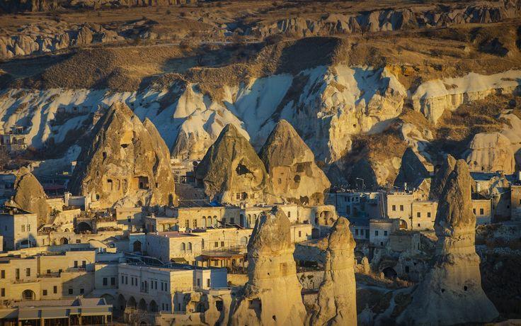 Göreme National Park and the Rock Sites of Cappadocia. Simply breathtaking!  (Nevsehir,Turkey)