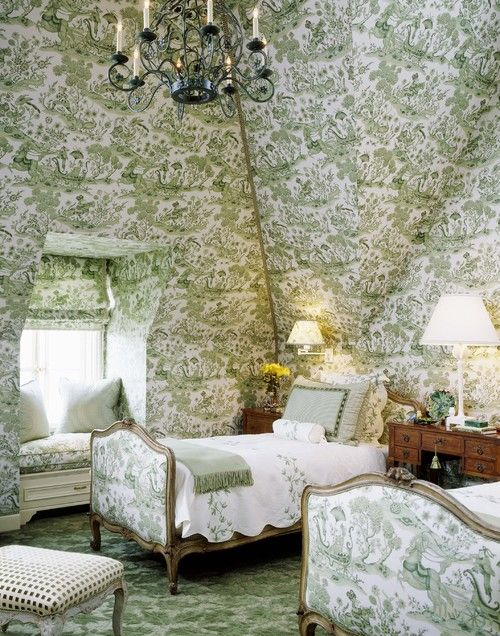 white house floor1 green roomjpg. green toile and bedroom with cozy window seat nook white house floor1 roomjpg t