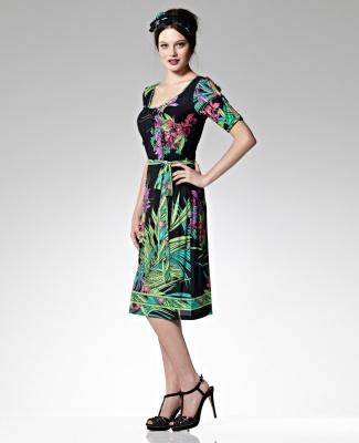 Leona Edmiston dress.