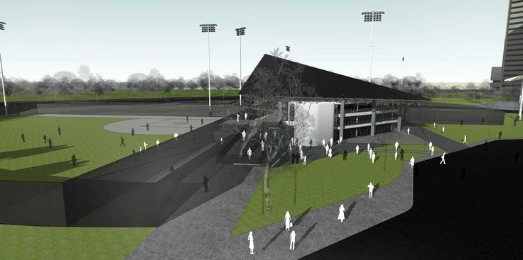 Softball Stadium Senayan  Design by Atelier Prapanca