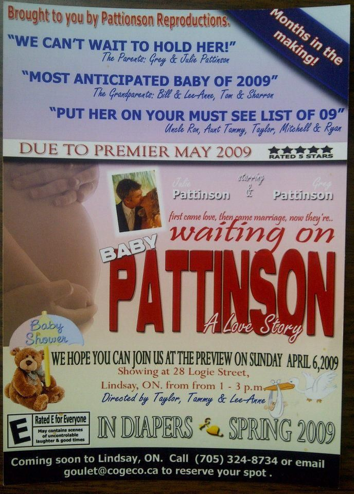 Movie Themed Baby Shower Invitations Hollywood Party Ideas For A