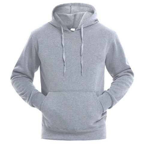 7416408a9 2018 New Mens Hoodies Brand Fashion Men Solid Color Sweatshirt Male Hoody  Hip Hop Autumn Winter Hoodie Mens Pullover M- XXL