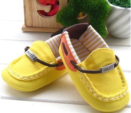 Mocassim yellow baby