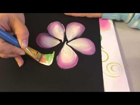 Mano alzada en uñas acrilicas - YouTube