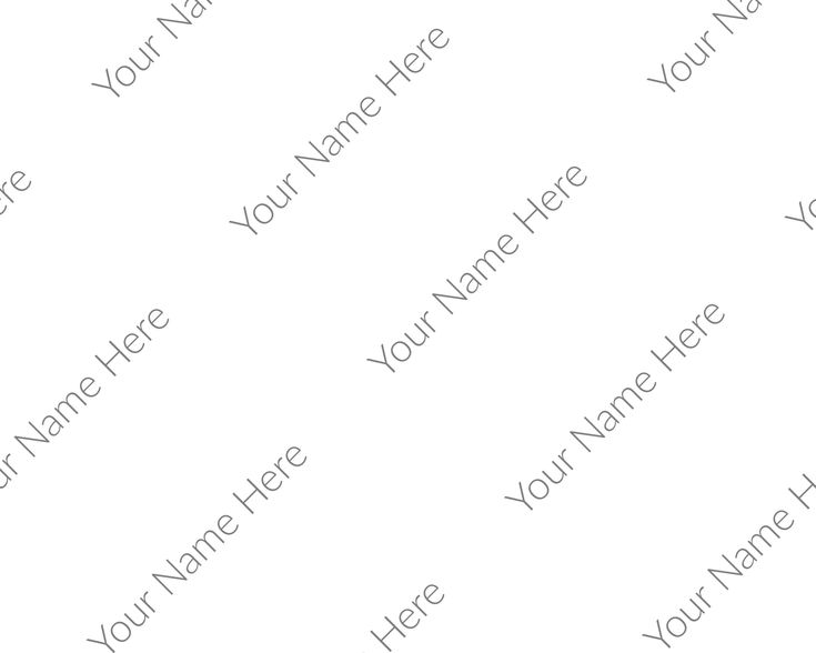 Personalized watermark customized watermark png company