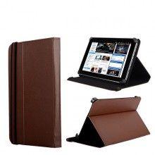 Capa Tablet 10 Polegadas - Função Stand com Fecho - Castanho  R$35,44