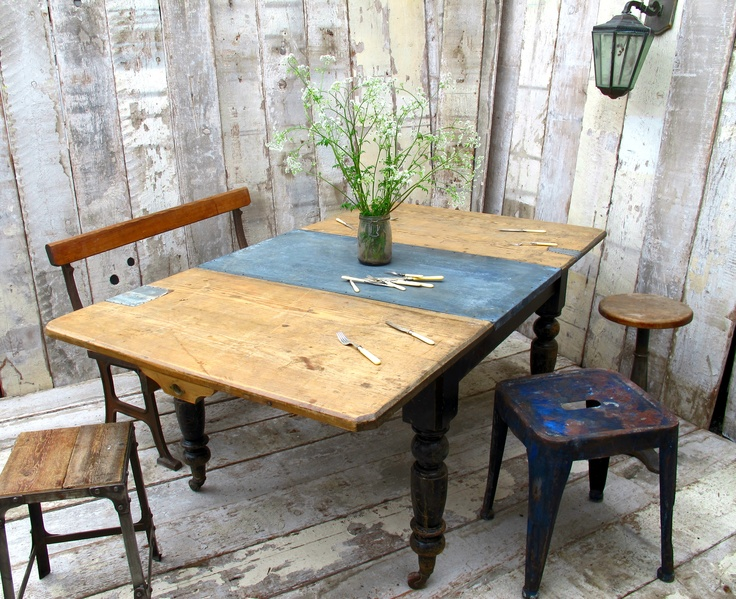 Our Quirky Victorian Extending Table