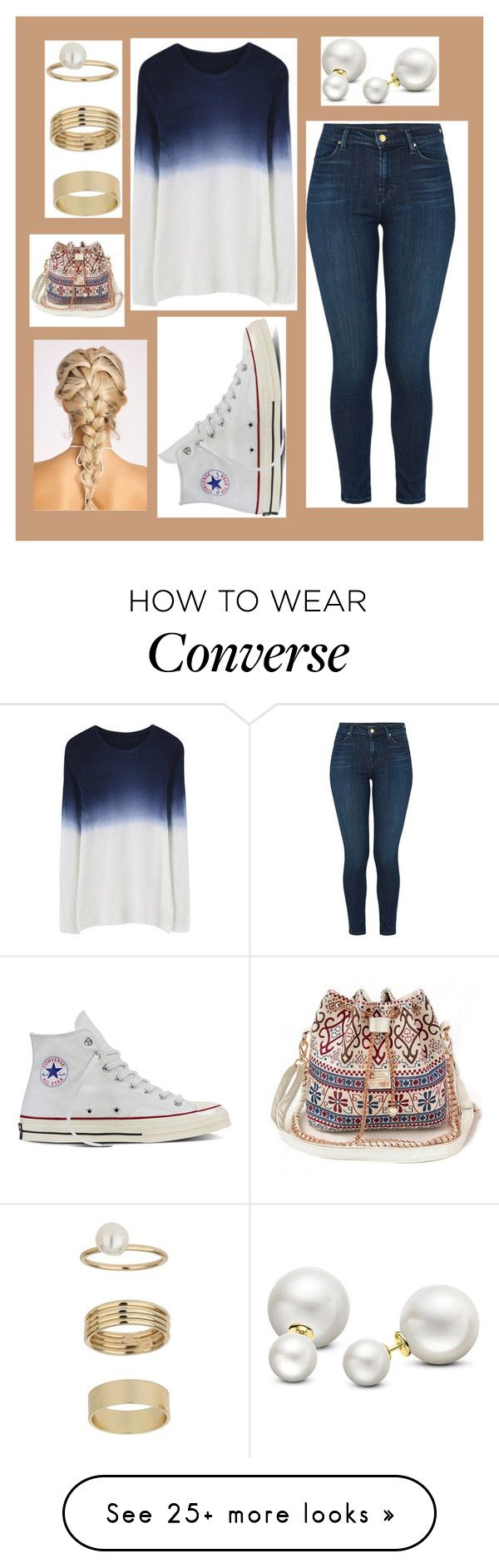 """10-19-16"" by clear-skye on Polyvore featuring Converse, J Brand, Allurez and Miss Selfridge"