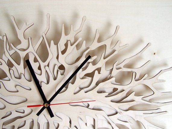 Hey, I found this really awesome Etsy listing at https://www.etsy.com/listing/155372653/coral-clock-large-wall-clock-horizontal