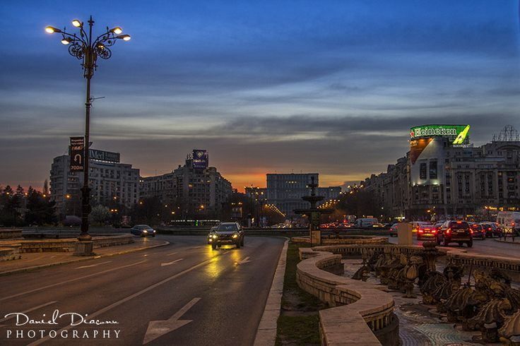 Unirii Square, Bucharest by Diaconu Daniel on 500px