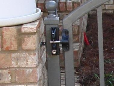 Best 25 Gate Locks Ideas On Pinterest Throw Over Gate