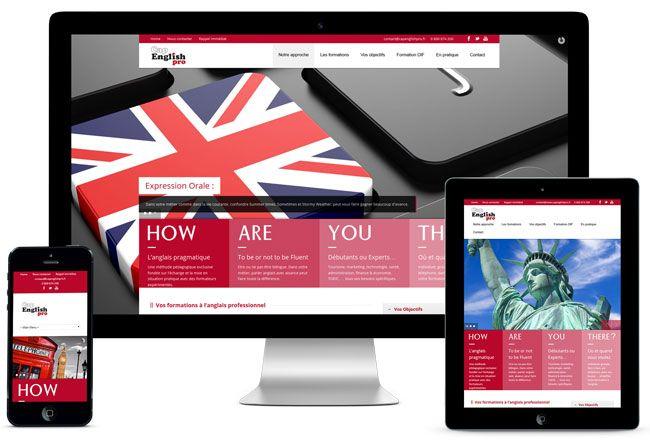 Cap'English Pro propose d'acquérir rapidement le niveau d'anglais dont vous avez besoin que vous soyez salarié, un chef d'entreprise ou un particulier.  http://www.capenglishpro.fr  CMS Wordpress responsive