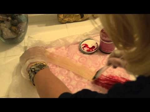 Kate Albrecht demonstrates how to dye the tips of your hair or hair extensions. A tutorial for her Mr. Kate blog. how to video. style, beauty, demo. Song: Vanished by Crystal Castles
