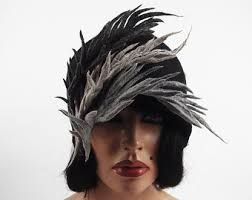 Image result for wearable arts feather headpiece