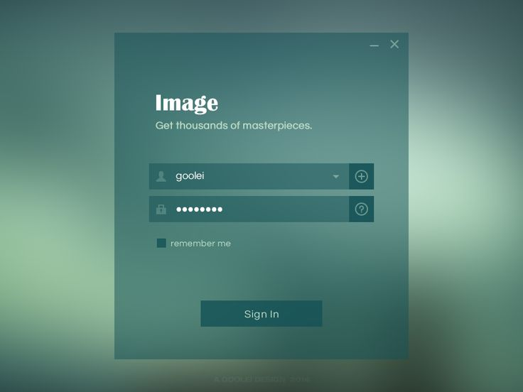 17 Best images about Login pages on Pinterest | Behance, Flats and ...