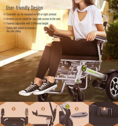 The Joy Of Retirement – Airwheel H3S Smart Electric Wheelchair