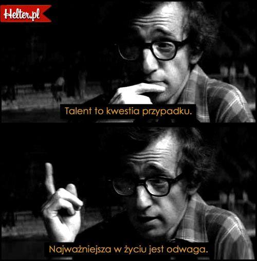 Cytaty Filmowe z Filmu Manhattan #polskie #cytaty #filmowe #popolsku  #mądre #helter #woodyallen #manhattan #odwaga