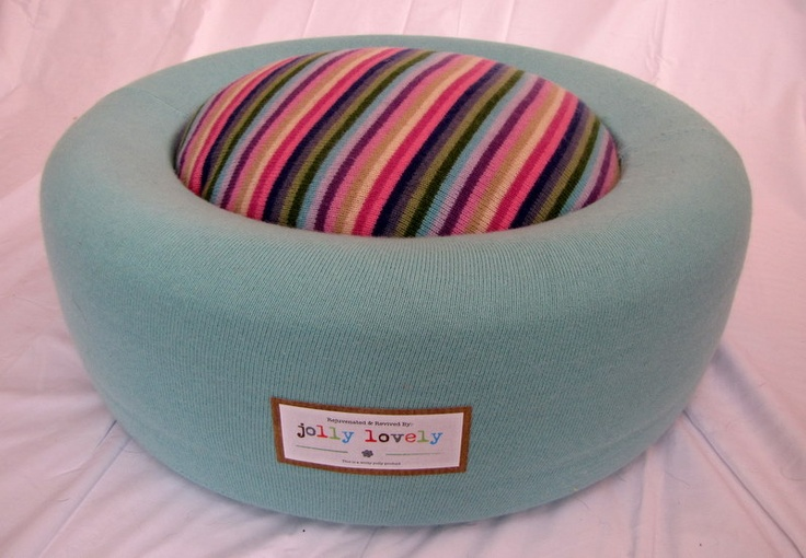 'jolly lovely' revived and rejuvinated, up-cycled car tyre...pop your bottoms on one of these great seats..or rest your weary feet!