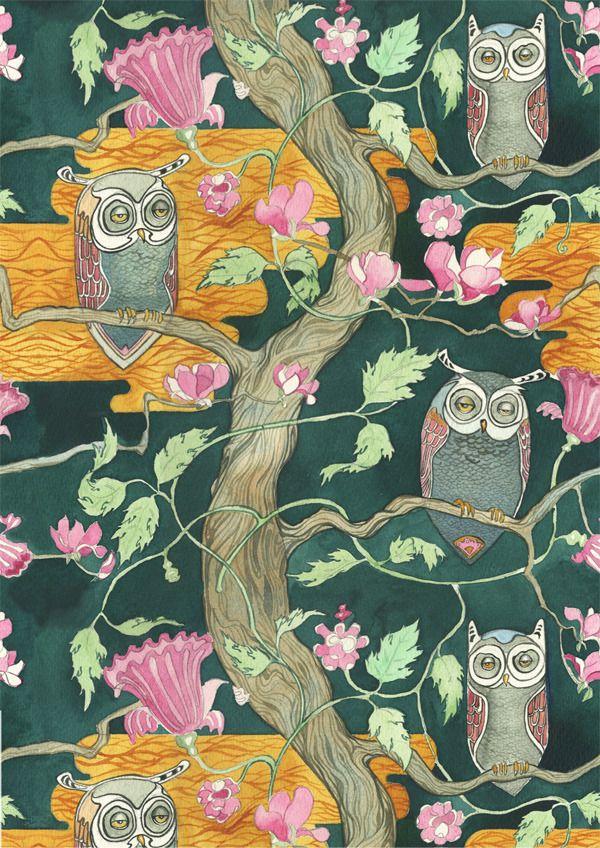 Sleepy Owls | Daniel Mackie