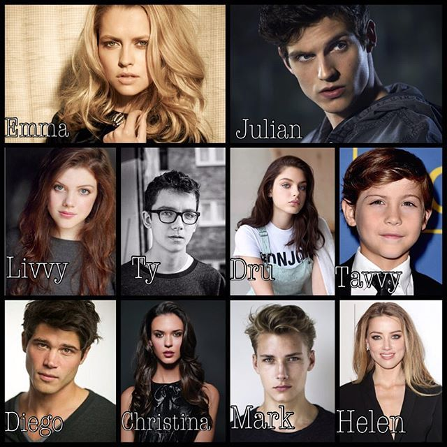 My fan casting of Lady Midnight!