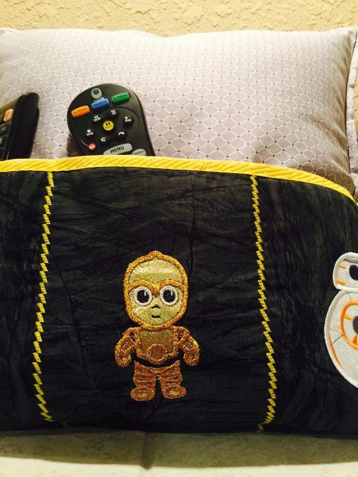 Droids remote control controller pillow diaper bag
