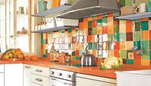 1000 ideas sobre colores de la pared de la cocina en for Azulejos economicos df