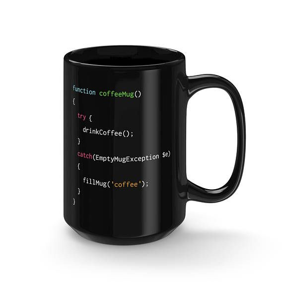 The perfect mug for PHP coders that just cant get enough coffee #php #gifts #coding #giftideas #giftsforher #giftsforhim #programminghumor