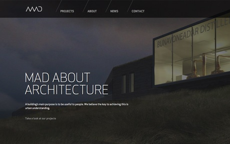 MAD ARCHITECTS | CSS Website | architecture websites | Pinterest ...