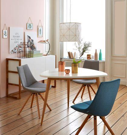 Les 178 meilleures images propos de table chaises table chairs sur pinterest chaises for La redoute chaises salle a manger