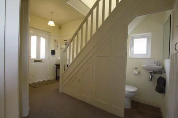 downstairs toilet and storage under stairs - Google Search