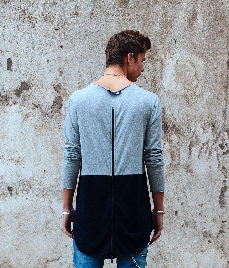 HIOS – OVERSIZE TEE GREY. #HIOS #Fashion #DanishDesign