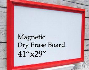 BOARD magnétique effaçables à sec pour vente Kids Playroom Decor Organisation Conseil 41