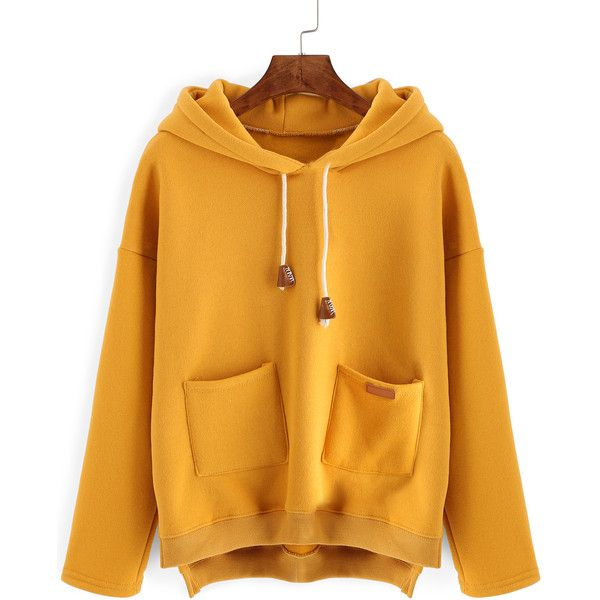 Best 25  Yellow women's hoodies ideas on Pinterest | Tumblr ...