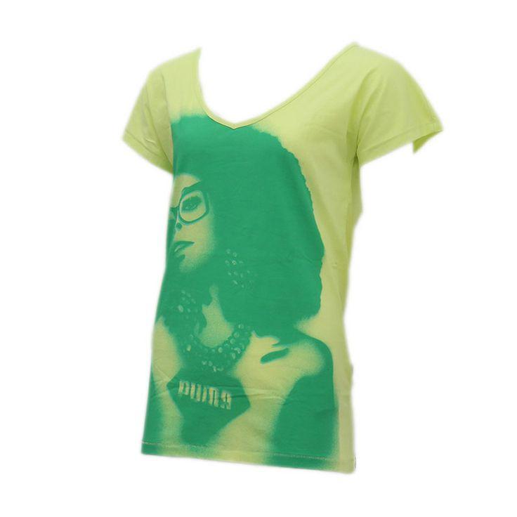 Γυναικείο T-shirt Puma.Αποτελείται από 100% βαμβάκι.Με πολύ άνετη εφαρμογή ιδανικό για κάθε μέρα.