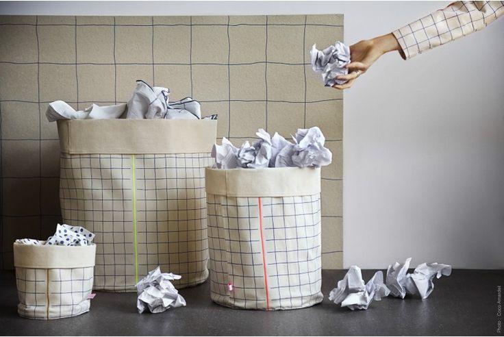 Fabric storage baskets kidsinteriordesigns.com.au
