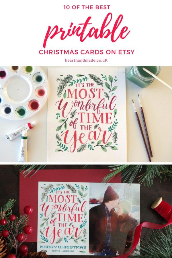 10 Of The Best Christmas Card Designs
