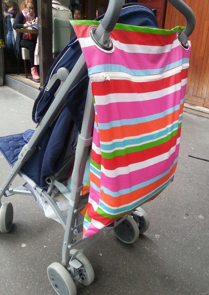 sac à poussette - Les Bricoles d'Anne-Cé