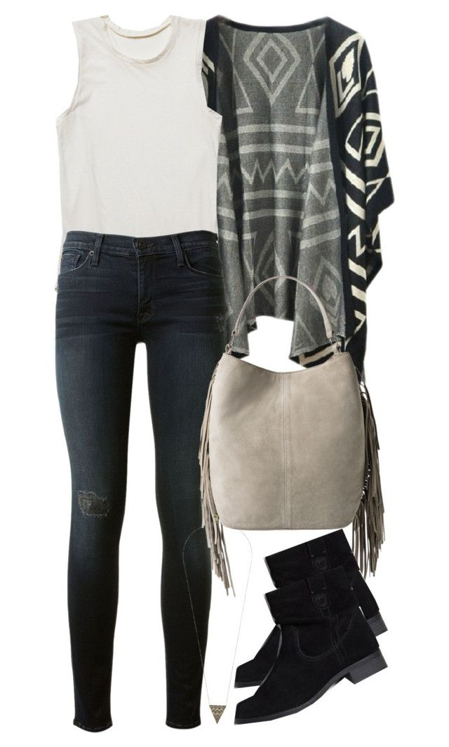 """""""Malia Inspired Outfit"""" by veterization ❤ liked on Polyvore featuring Chicnova Fashion, Free People, Hudson, MANGO, American Eagle Outfitters and House of Harlow 1960"""