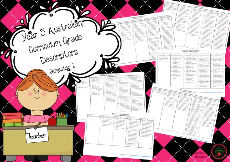This product contains reporting grade descriptors for Year 5, Semester 1. These have been developed using the Australian Curriculum. This file contains reporting grade descriptors for: – Reading – Writing – Speaking and Listening – Number – Measurement & Geometry – Probability & Statistics How I use them: * Print a copy for each child. …