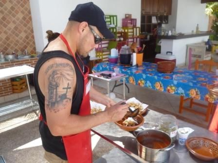 The Australian chef, cooking Mexican food #PuertoVallarta #FoodTours @WeVisitMexico