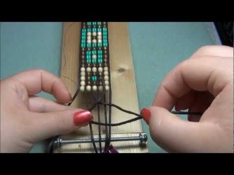 Five Row Beaded Cuff Wrap Bracelet Tutorial (video)