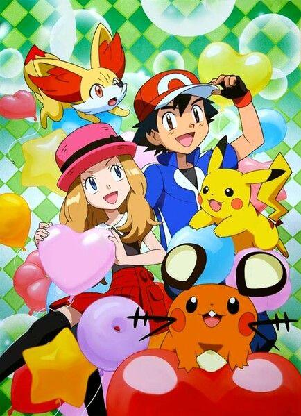Eso es arte oficial señores, oficial!!Amourshipping es canon ya verán! Ya verán! #Amourshipping #PokémonXY #KalosQueen